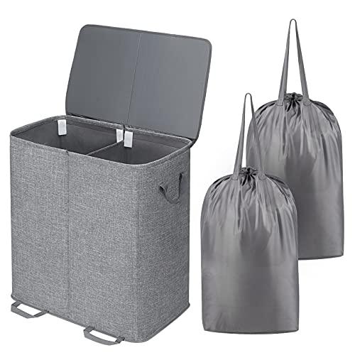 Lifewit -   Doppel Wäschekorb