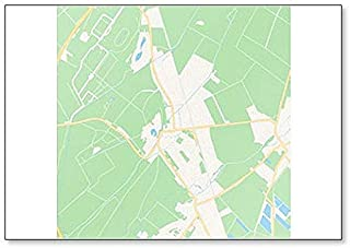 Ebreichsdorf, Austria Map Classic Fridge Magnet