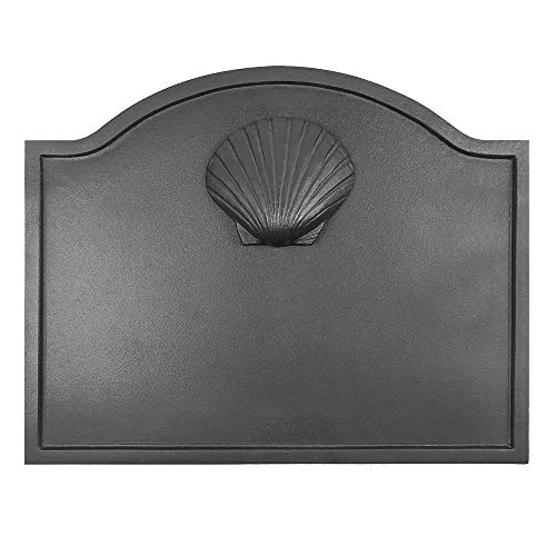 Best Deals! Minuteman International Shell Cast Iron Fireback, Small