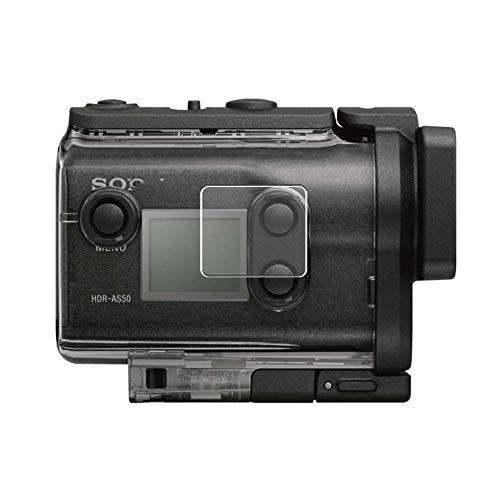 Vaxson 3-Pack TPU Pellicola Protettiva, compatibile con Sony HDR-AS50, Screen Protector Film [ Non Vetro Temperato ]