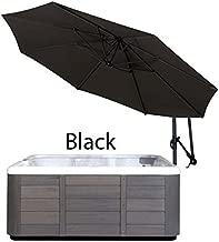 Cover Valet SSUBK Spa Side Umbrella (Black)