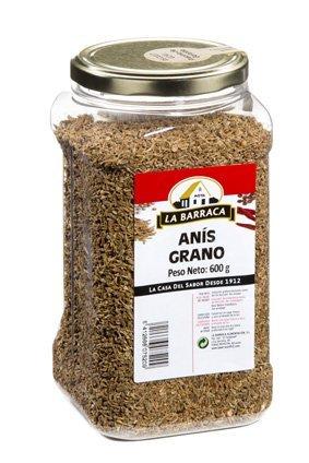 Anís verde en grano semillas bote 560 Gr
