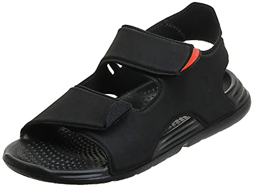 adidas Swim Sandal C, Sandalias Deportivas, NEGBÁS/NEGBÁS/FTWBLA, 34 EU