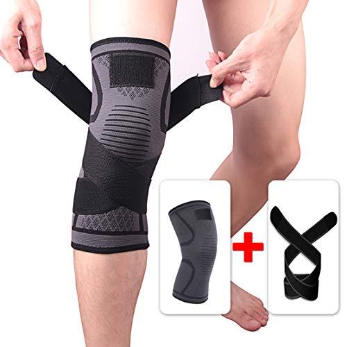 HIOD Apoyo de Rodilla Soporte de Apoyo para la recuperación de Lesiones Desgarro de menisco Correr Sentadillas Deportes Artritis