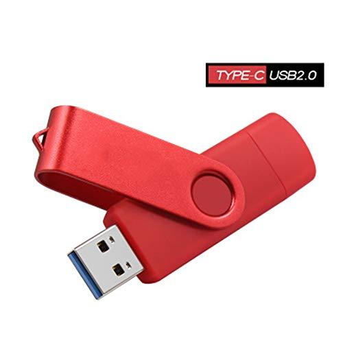 HMY Typ-C2.0Rotating U Disk 32GB Feder-Antrieb USB-Flash-Laufwerk Externes Memory Stick 128 GB 64 GB 32 GB 16 GB 8 GB,D,4GB