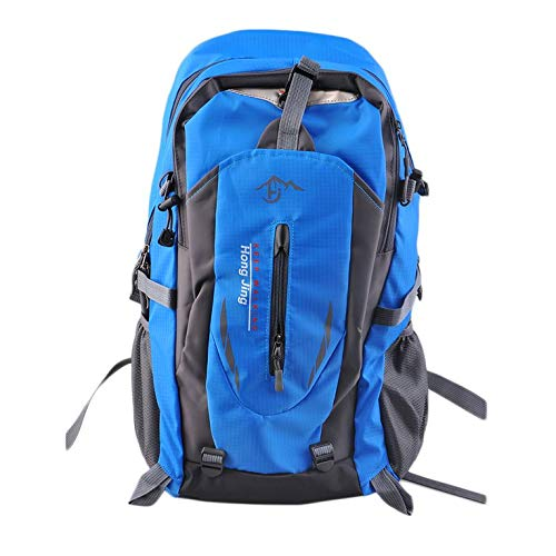 #N/V Outdoor Mountaineering Bags 40L Water Repellent Nylon Shoulder Bag Men And Women Travel Hiking Camping Backpack