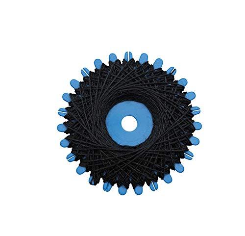 Glorex GmbH Fil à coudre, Noir, 2 x 20 M
