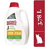Nature's Miracle Urine Destroyer Just for Cats, Pet Urine Enzyme Cleaner, 3.7 Litres