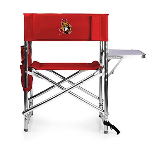 NHL Ottawa Senators tragbarer, Faltbarer Sportstuhl, Sports Chair, rot