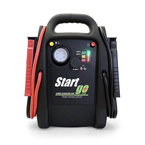 batteria di avviamento con doppia uscita USB torcia LED avviamento batteria auto 12 V fino a 6.2L benzina, 5.0L Diesel avviamento Powerbank TACKLIFE T6 600A 16500mAh Jump Starter