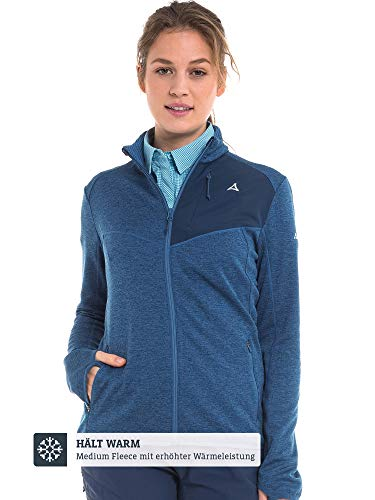 Schöffel Damen Fleece Jacket Houston1, blau, 48