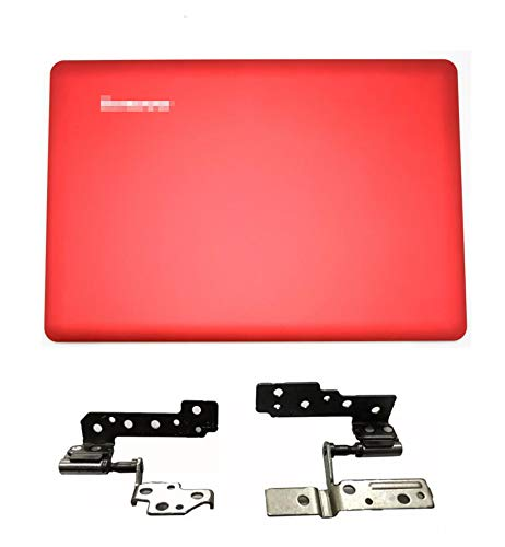 Replacement for Lenovo IdeaPad U410 Laptop Red Top 14' LCD Back Cover & LCD Hinges