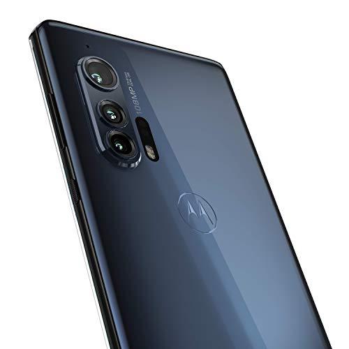 "Motorola Edge Plus (108MP, 5G, Display Endless Edge 6.7"" FHD+, Qualcomm Snapdragon Octa-Core SM8250, batteria 5000 mAH, memoria 12/256 GB, Android 10), Thunder Gray"