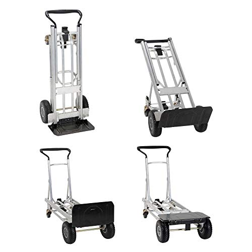 Cosco 12323ASB1E Handtruck, 4 in 1, Steel