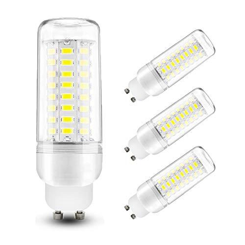 COMY LED GU10 Maiskolben LED Lampe 10W Kaltweiß 6000K Mais Birne, Entspricht Glühbirnen 60W, 800Lm, Nicht Dimmbar AC 230V für Hauptbeleuchtung Camper/Wohnwagen/Gartenhaus - 4 Stück