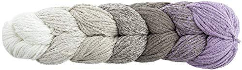 Woolly Hugs Rope Plait 182 Flieder, Taschengarn, Rope Garn zum Einkaufsnetz oder Tasche häkeln, mit Farbverlauf und Anleitung, 250g