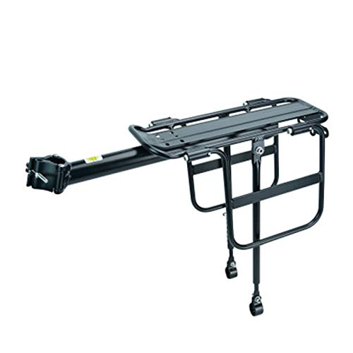 Portaequipajes para Bicicletas Aleación de aluminio de bicicletas Porta equipaje del asiento posterior de la bicicleta de bicicletas de montaña de equipaje del estante del estante del portador de cicl