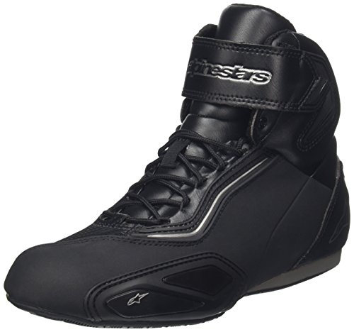 Alpinestars Schuhe Faster 2 Waterproof, Black Gun Metal, 8,5=41