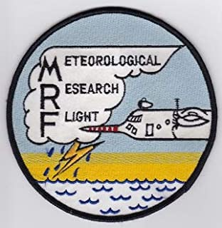 PATCHMANIA RAF Patch Meteorological Research Flight MRF C 130 Snoopy Patch 120mm Parches Bordados THERMOADHESIVE Patch