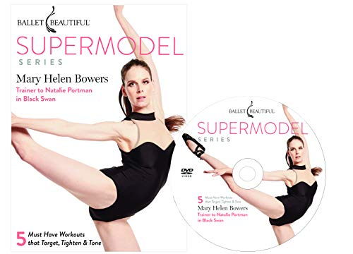 Ballet Beautiful Ballet Workout DVD - Supermodel Series. Mary Helen Bowers Barre Dance Inspired Fitness DVD