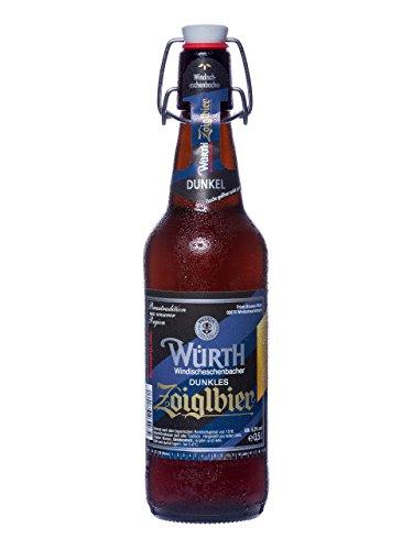 Würth Zoigl dunkel (12 Bügelflaschen 0,5l) …