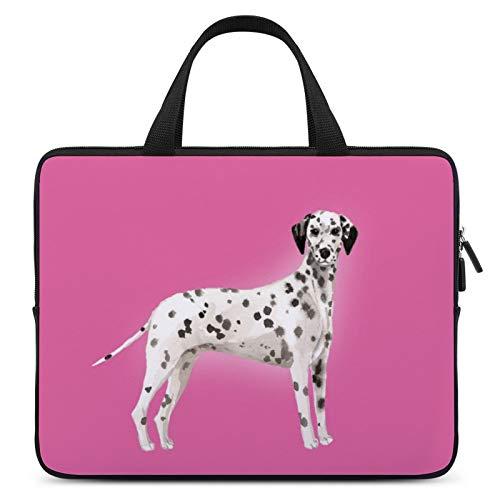 Universal Laptop Computer Tablet,Case,Cover for Apple/MacBook/HP/Acer/Asus/Dell/Lenovo/Samsung,Laptop Sleeve,Color for Dog Dalmatian Vertebrate Great Dane,13inch