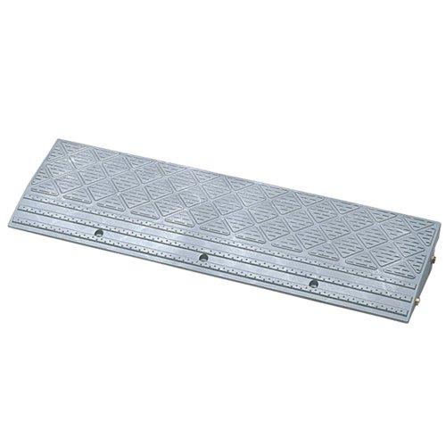 アイリスオーヤマ 段差 スロープ プレート 幅 90cm段差 10cm NDP-900E ゴム製 グレー