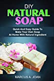 DIY NATURAL SOAP: Quick And Easy Guide To Make Your Own Soap At Home With Natural Ingredient (English Edition)