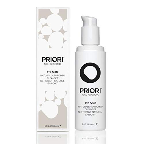 Priori Skincare Naturally Turmeric Based Enriched Cleanser Fragrance Free Natural Face Wash...
