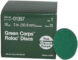 3M 01397 Green Corps Roloc Green Disc