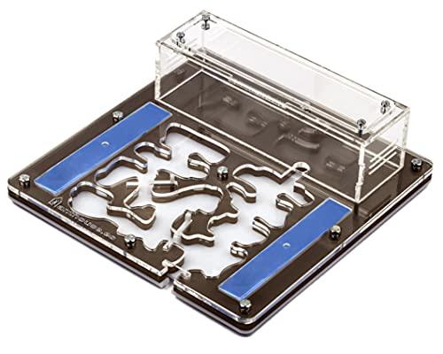 AntHouse | Hormiguero Educativo Acrílico 20 x 20 x 1'3 cm | Granja de Hormigas | Hormigas Gratis Incluidas | Marrón
