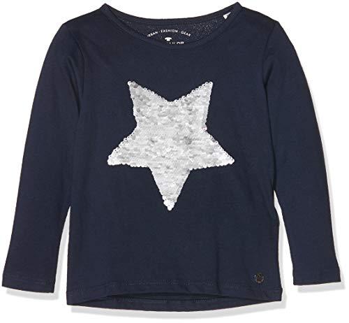 TOM TAILOR Kids TOM TAILOR Kids Mädchen T-Shirts 1/1 Langarmshirt, Mehrfarbig (Original|Multicolored 0004), 116 (Herstellergröße: 116/122)