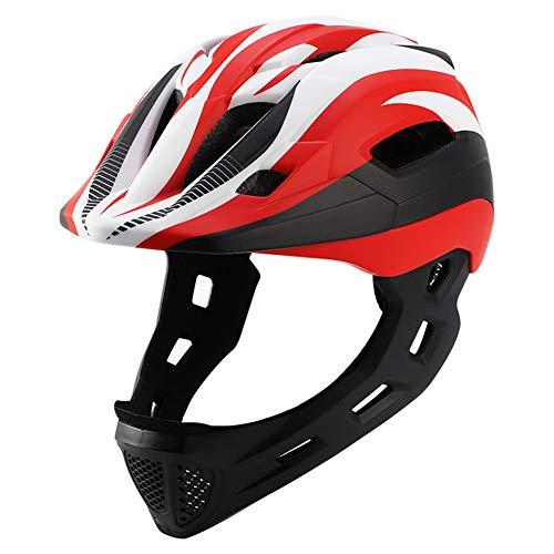 Kinderhelm, Kinder Sporthelm Integralhelm/Halbhelm Skaterhelm Fahrradhelm Scooter Helm Sicherheit für 3-13 Jahre Junge Mädchen,H15