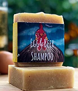 Rosemary Egg & Beer Shampoo Bar by Old Pump Soaps