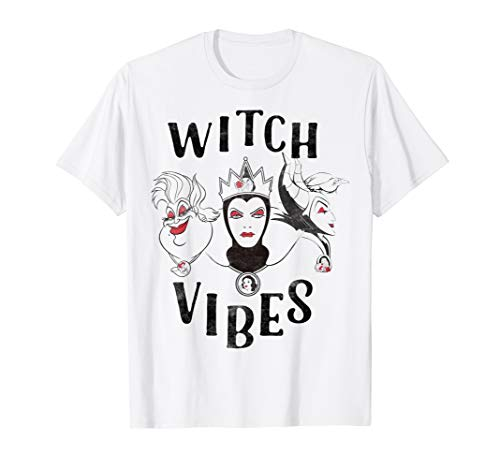 Disney Three Evil Villains Witch Vibes Graphic T-Shirt