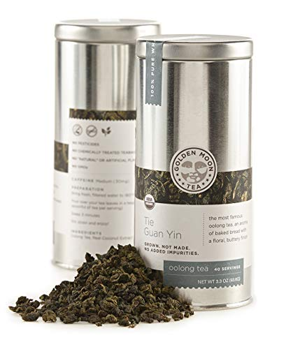 Té Orgánico De Hojas Sueltas  marca Golden Moon Tea