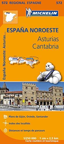Espana noroeste : asturias, cantabria (Régional Espagne)