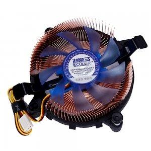 3 Pin Connector Tarjeta gráfica DC 12 V Computer disipadores refrigerador ventilador de refrigeración de cobre: Amazon.es: Electrónica