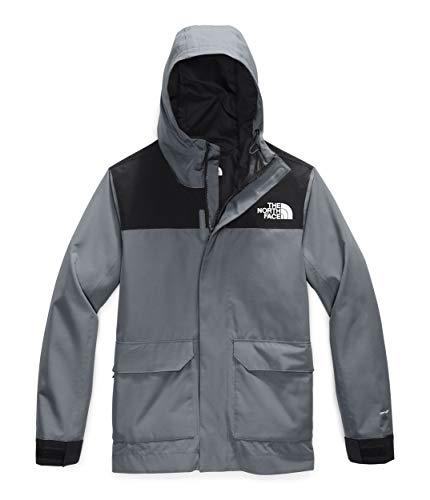 The North Face Men's Cypress Jacket, Mid Grey/TNF Black, L