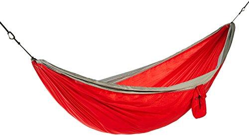 Leichte Doppel-Camping-Hängematte, Rot