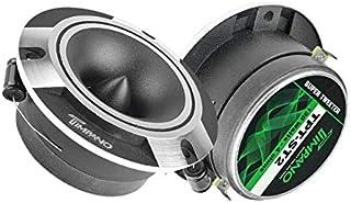 $25 » Timpano TPT-ST2 4″ Super Tweeter Car Audio - Silver Titanium Loud Tweeter Pro Audio (Pair)