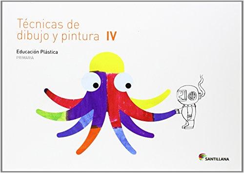 CUADERNO TECNICAS DE DIBUJO Y PINTURA IV 4 PRIMARIA - 9788468017747