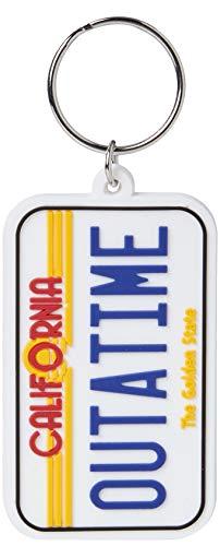 Key chain Back To The Future - Llavero de Goma License Plate