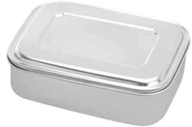 La fiambrera de acero inoxidable engrosa la caja de almacenamiento de prensado para trabajos escolares