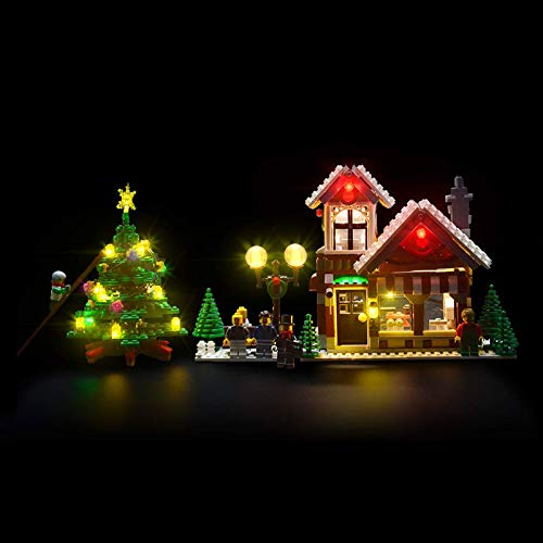Juego de luces LED para el modelo de bloques de construcción Lego 10249, kit de luces Compatible con la tienda de juguetes de invierno Creator Expert (NO incluido el modelo)