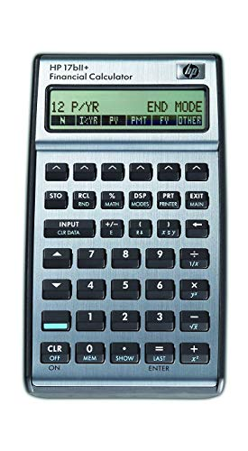HPI Japan-17BLL+ Calculadora financiera (F2234A17) , color, modelo surtido