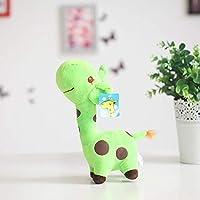 18cm / 25cmかわいいキリンぬいぐるみペンダントソフトディアぬいぐるみ漫画動物人形赤ちゃんキッズおもちゃクリスマス誕生日カラフルギフト