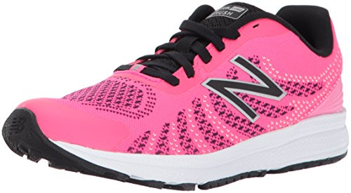 New Balance New Balance, Unisex-Kinder Laufschuhe, Pink (Pink/black), 28.5 EU (10.5 UK Child)