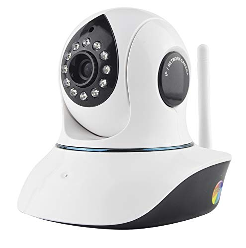 GWX 960P Dome bewakingscamera, IP-netwerk-bewakingscamera met 2-weg audio en infrarood nachtzichtfunctie, geschikt voor huisdieren/babys/ouderen