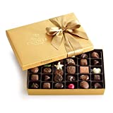 Godiva Chocolatier Gold Ballotin, Classic Gold Ribbon, Great for Gifts, Gourmet Chocolate Gift Box, 36 Count by Godiva Chocolatier